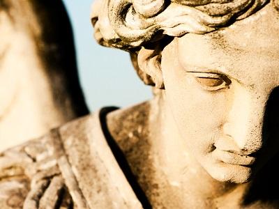 Statue des Erzengel Michael