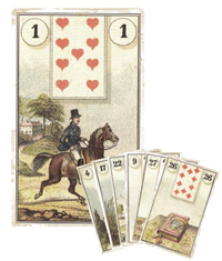 Lenormand Kombination 1