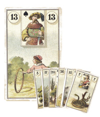 Lenormand Kombination 13