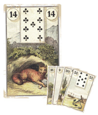 Lenormand Kombination 14