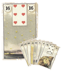 Lenormand Kombination 16