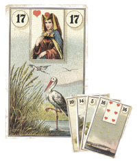 Lenormand Kombination 17