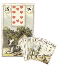 Lenormand Kombination 18
