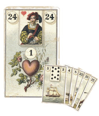 Lenormand Kombination 24