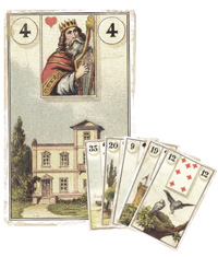 Lenormand Kombination 4