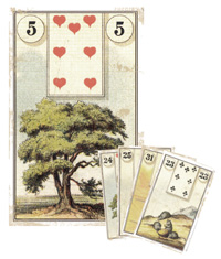 Lenormand Kombination 5