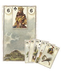 Lenormand Kombination 6