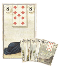 Lenormand Kombination 8