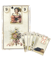 Lenormand Kombination 9