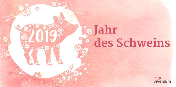 Chinesisches Horoskop - Jahr des Schweins