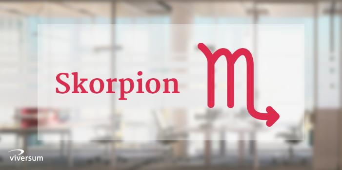 Berufshoroskop 2019 Skorpion