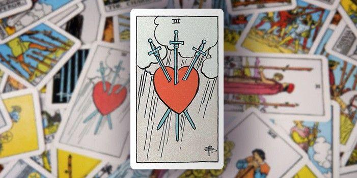 Tarot - Drei der Schwerter