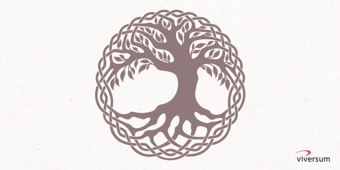 Keltisches Symbol Keltischer Lebens