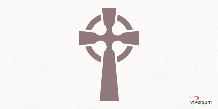 Keltisches Symbol Keltisches Kreuz