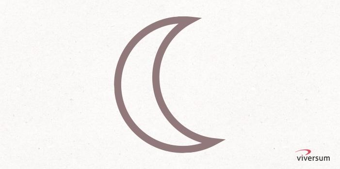 Keltisches Symbol Mond