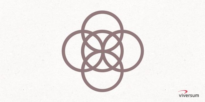Keltisches Symbol Rad des Seins