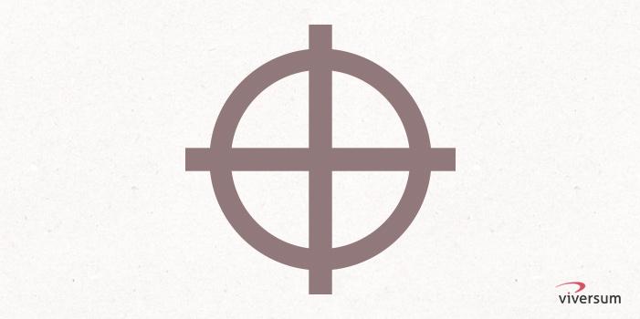 Keltisches Symbol Radkreuz
