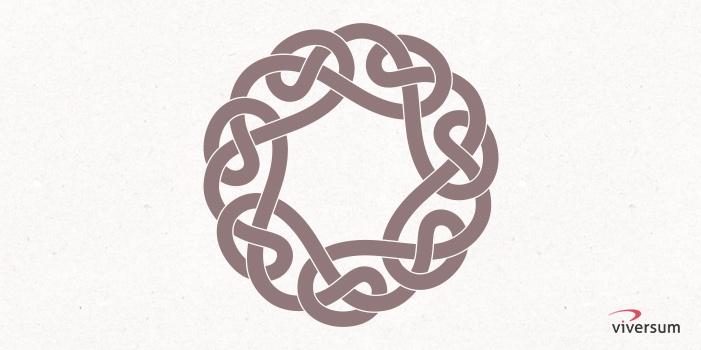 Keltisches Symbol Knotenmuster