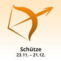 Sternzeichen Schütze: 23.11. bis 21.12.