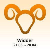 Sternzeichen Widder: 21.3. bis 20.4.