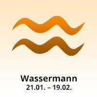 Sternzeichen Wassermann: 21.1. bis 19.2.