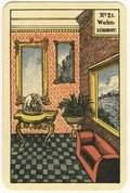 """Kipperkarte No 21 """"Das Wohnzimmer"""""""