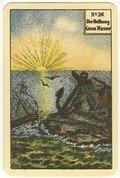 """Kipperkarte No 36 """"Die Hoffnung. Großes Wasser"""""""