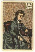 """Kipperkarte No 2 """"Weibliche Hauptperson"""""""