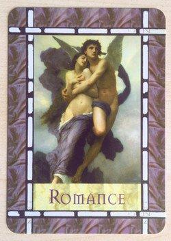 "Engelkarte ""Romantik"""
