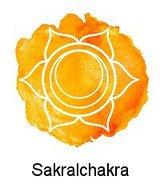 Sakralchakra / Swadhisthana (Handbreit unterhalb vom Bauchnabel)