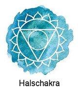 Halschakra / Vishuddha (in Kehlkopfhöhe)