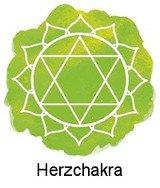 Herzchakra / Anahata (in Höhe des Herzens)