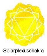 Solarplexuschakra / Manipura (oberhalb des Sonnengeflechts)