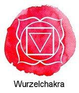 Wurzelchakra / Muladhara (zwischen Genitalien und Anus)