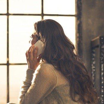 Engelkarten legen am Telefon